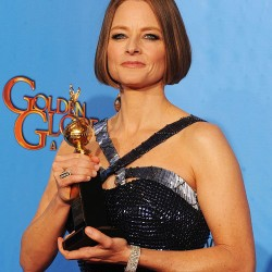 Jodie Foster a Golden Globe-on vallotta be leszbikusságát
