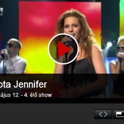 Szirota Jennifer jra robbant &#8211; 4. Dnt