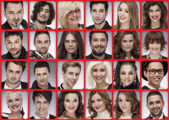 The Voice 24 továbbjutó az élő adásokba (kép: voice.hu)