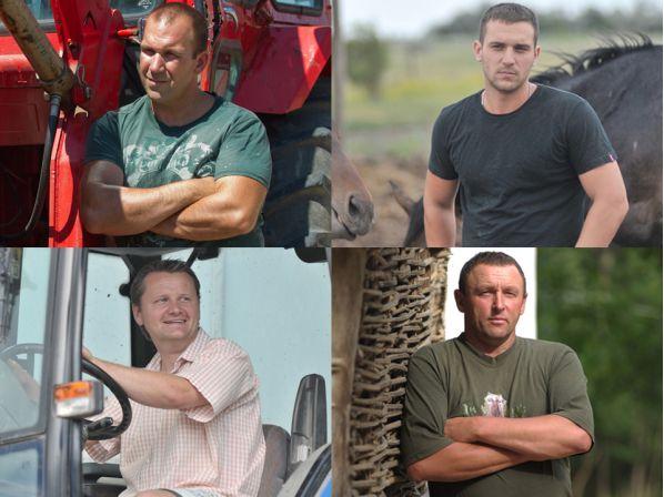 A négy szerencsés gazda, akik a műsor főszereplői lesznek