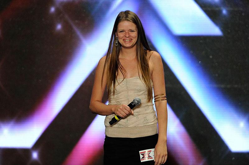 Az X-faktor 2013 harmadik helyezettje Krasznai Tünde