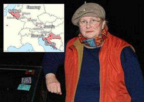 Sabine Moreau bízott a GPS-ében, de Brüsszel helyett Zágrábban kötött ki
