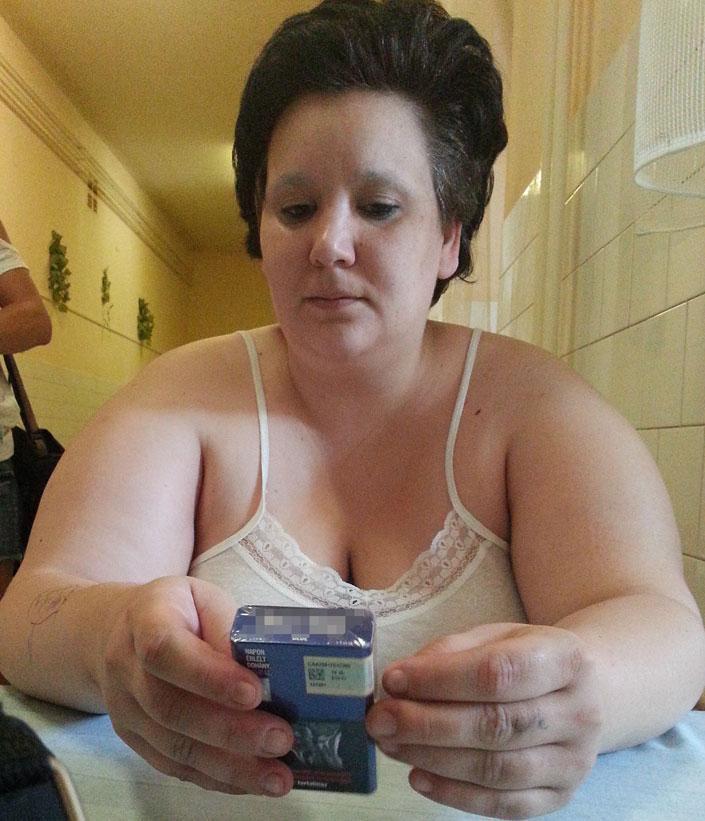BB Évi kikerült a kórházból, esélyt kapott az új életre (fotó: Blikk)