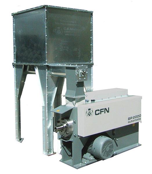 Brikett gyártásához használt munkagép (forrás: http://bestmachinery.hu)