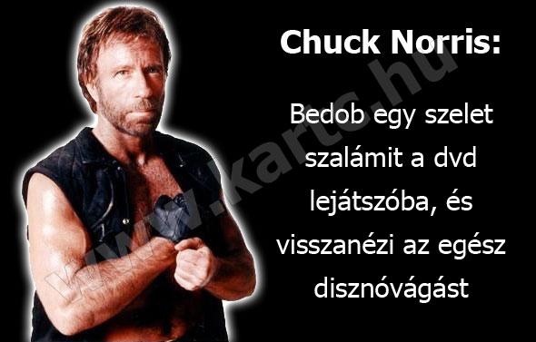 Chuck Norris és a szalámi