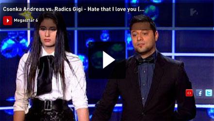 Csonka Andreas és Radics Gigi