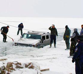 A Hummer mentés közben