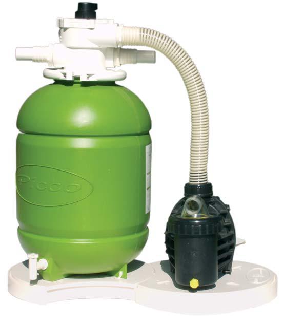 Egy medence vízforgató és/vagy homokszűrő megnöveli az élettartamot és javítja a komfortot