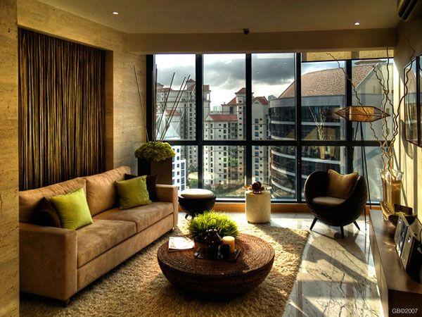 Egy igényesen berendezett nappali gyönyörű látványt hoz magával