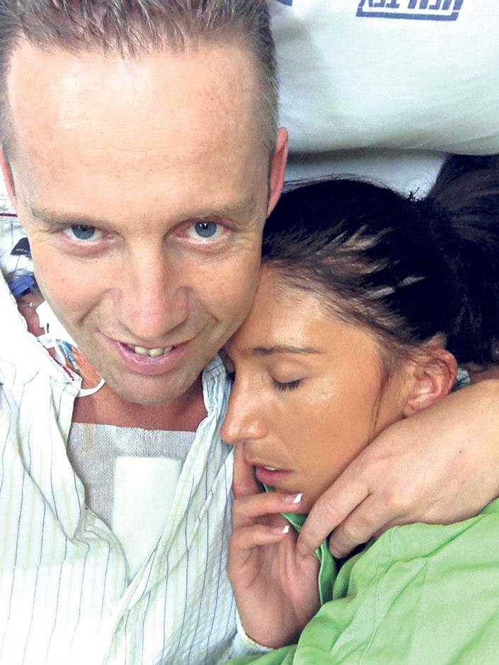 Norbi és Réka a kórházban: húsevő baktérium kezdte enni Norbi szívét