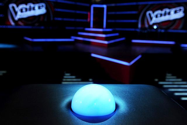 The Voice stúdió 4. (forrás: TV2)